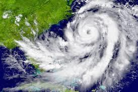 Hurricane over Sea