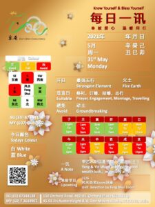 12/6 :  风水选宅Zoom讲座 Unit  Selection by Feng Shui Zoom