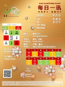 10th May Daily Feng Shui & Zodiac