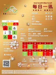12th May Daily Feng Shui & Zodiac